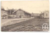 "<span class=""caption-caption"">Railway station Toowong</span>, 1908. <br />Postcard, collection of <span class=""caption-contributor"">Fryer Library, UQ</span>."
