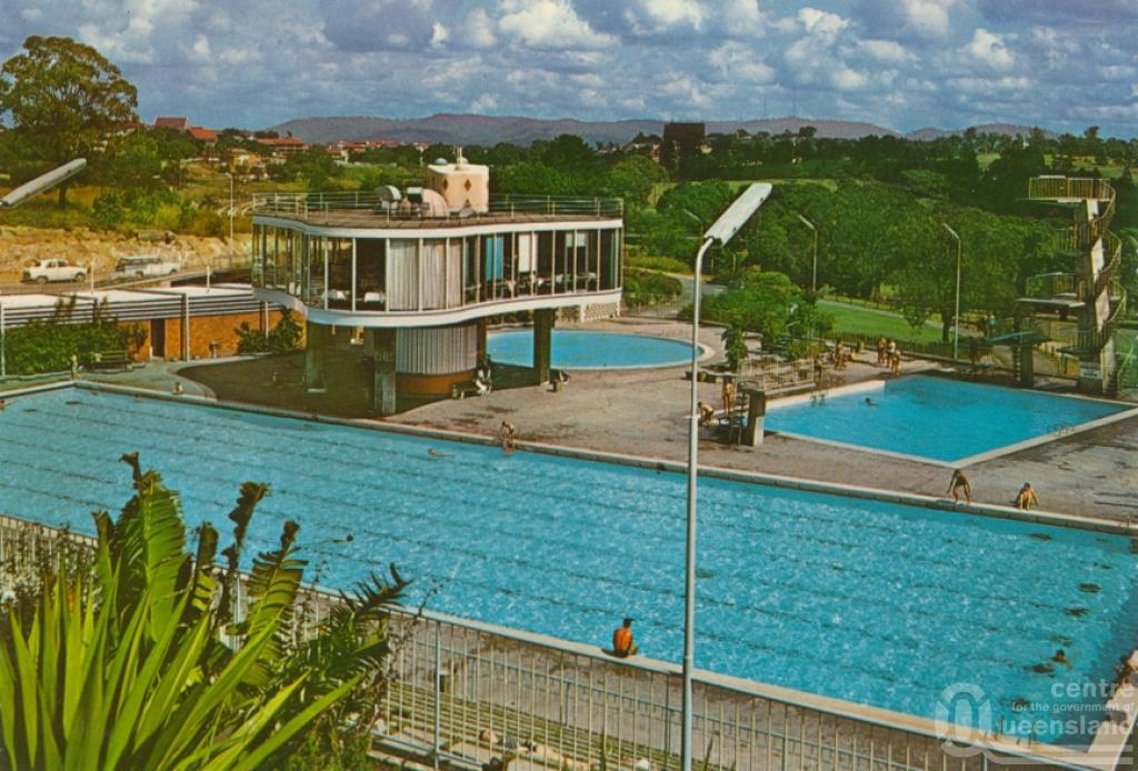 Australia Centenary Swimming Pool And Restaurant Spring