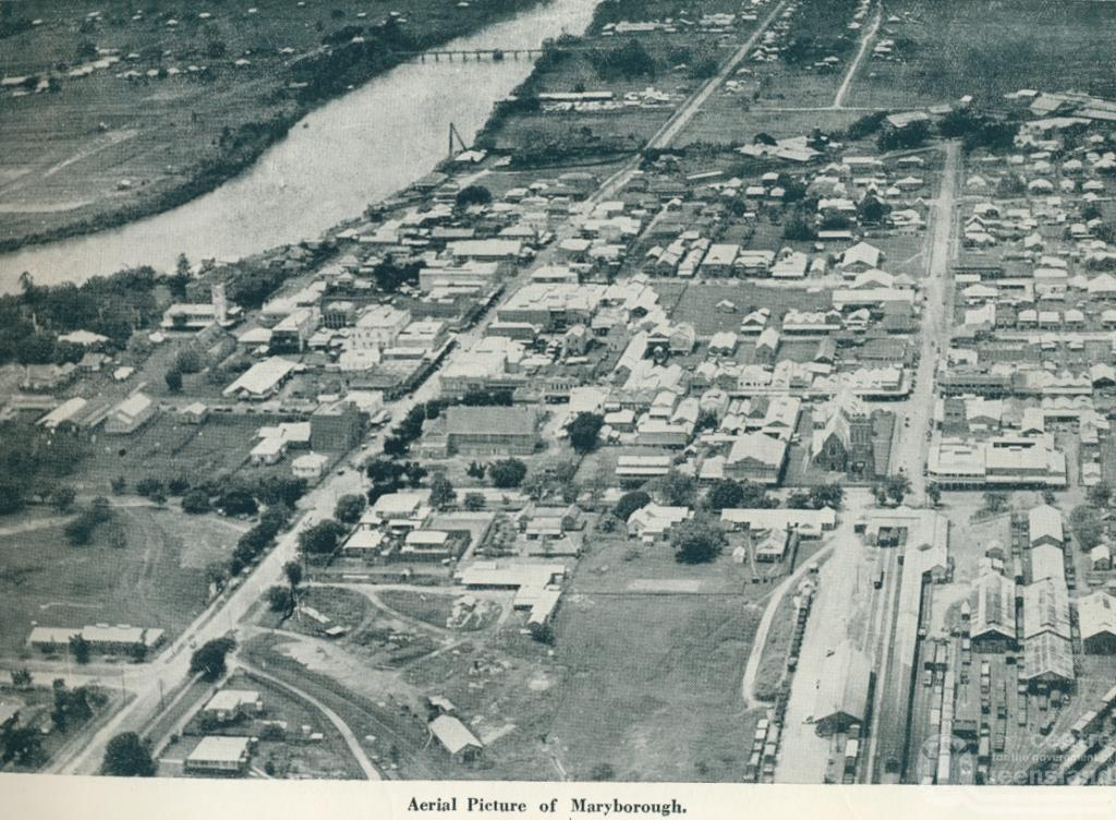 Maryborough Australia  city pictures gallery : Aerial picture of Maryborough . From Queensland The Jewel of Australia ...