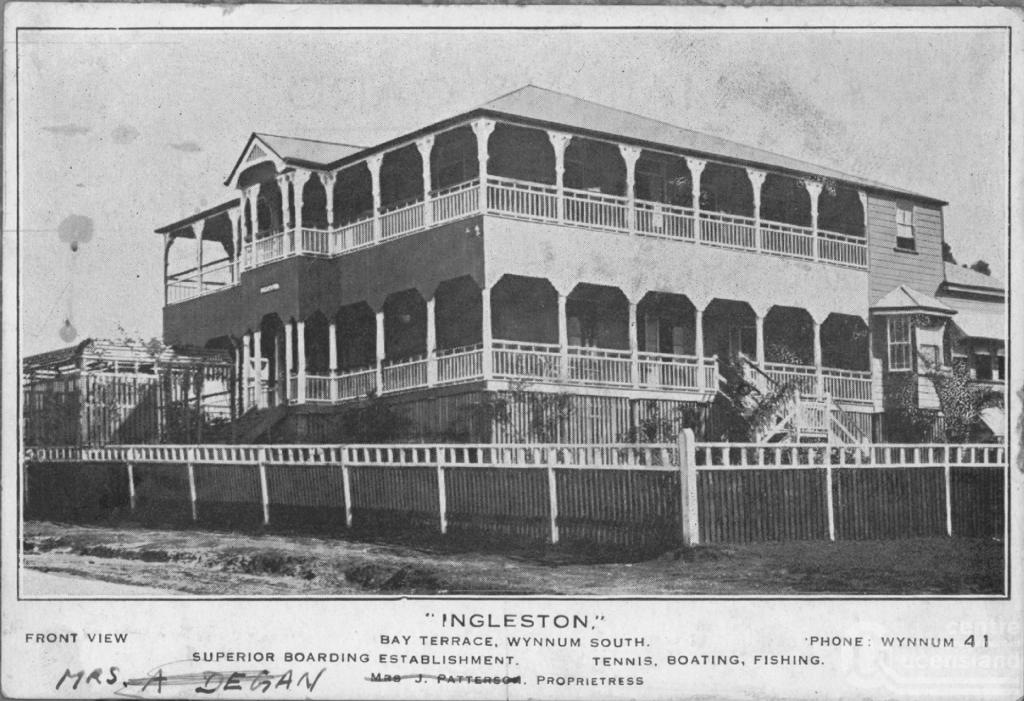 Wynnum queensland places for Queensland terrace state library