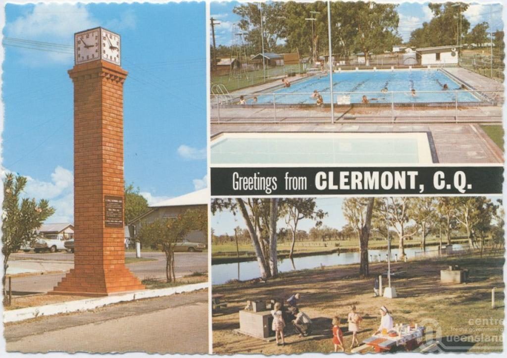 Clermont and copperfield queensland places - University of queensland swimming pool ...