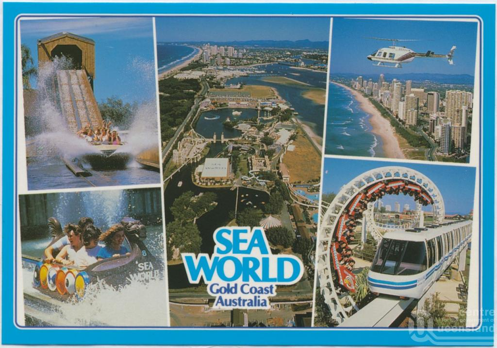 Postcard queensland places sea world gold coast gumiabroncs Image collections