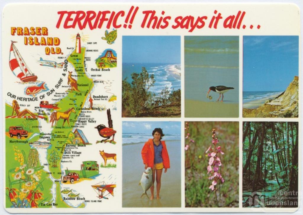 Fraser Island Queensland Places
