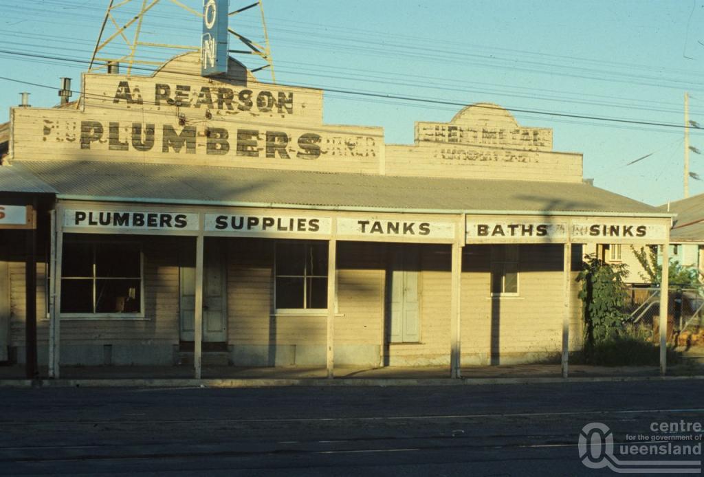 Street Elevation A Pearson Plumbers Shop Rockhampton